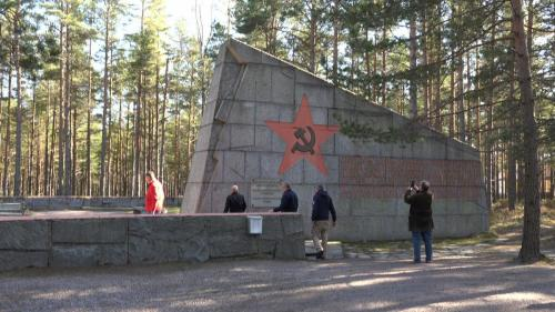 Venäläisten muistomerkki Santalassa