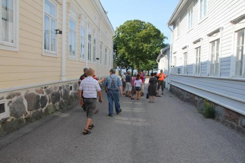 Tutustuminen Tammisaaren vanhaan kaupunkiin.