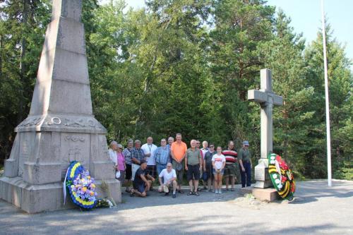 Taistelun muistomerkki