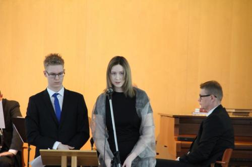 Rosa Rinne ja Riku Engström