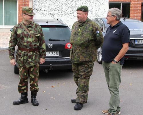 Henri Turkki , Mikko Prusi ,Kyösti Sario