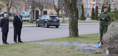 Lohjan VeteraanikiviJoona RäsänenMikko PrusiKati Pitkänen