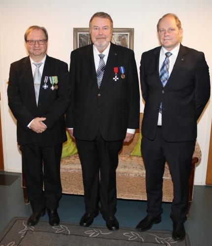 Kalervo Kaarre, Timo Jukola ja Lauri Hietaniemi